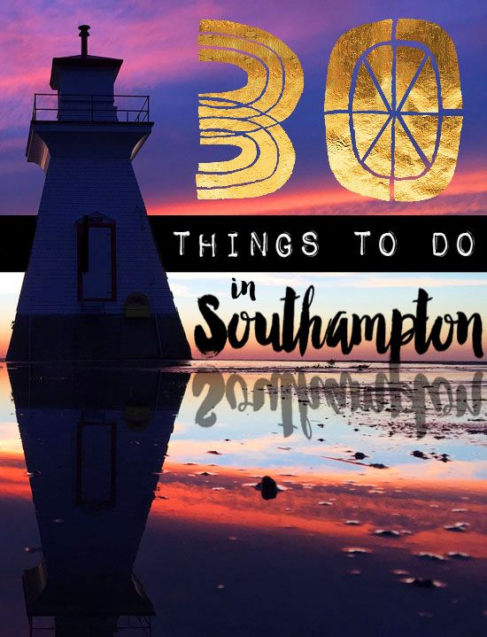 This is really cute. Yes to all these things!! Southampton, Ontario is a small town on the shores of Lake Huron, in the lovely County of Bruce. It's one of those charming, picturesque towns that is worthy of a post card, and tourists drea…