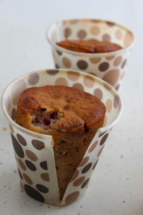 Kağıt Bardakta Çikolatalı Vişneli Kek - Nesrin Kismar #yemekmutfak Çok lezzetli olan bu porsiyonluk kekleri sarıp çantaya yerleştirebilir, iş yerinde veya okulda yiyebilirsiniz.