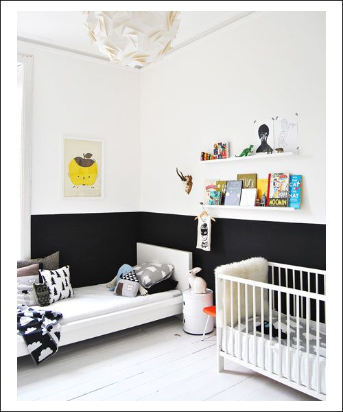 Bedroom Paint Ideas Two Tone Minimalist Bedroom Art Black Bedroom Accent Wall Colours For Small Bedroom Walls: 81 Best Images About Bedroom