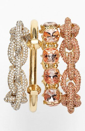 Trend to try: Stacked bracelets