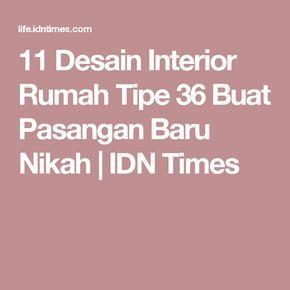 11 Desain Interior Rumah Tipe 36 Buat Pasangan Baru Nikah | IDN Times
