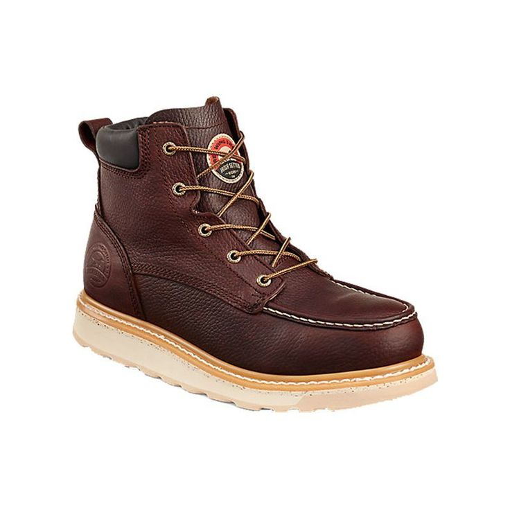 Irish Setter Men's Ashby Work Boots, Brown