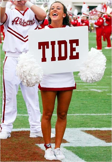 I was pinning Alabama stuff and there was Jodie!  Had to repin!