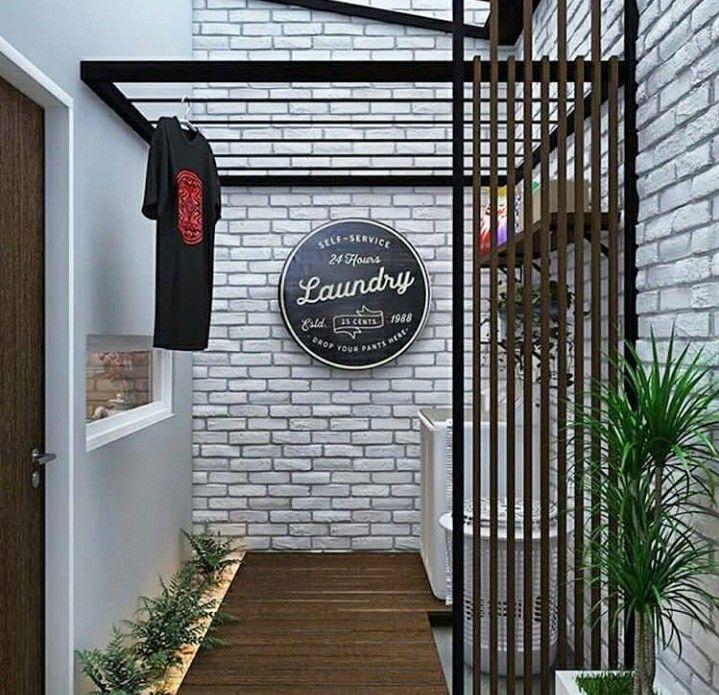 Pin De Annie Rosma Panjaitan En Reforma Tendedero De Ropa Exterior Pequenas Habitaciones De Lavadero Decoracion De Lavanderia