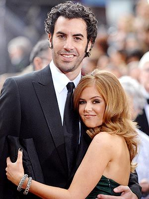 Sacha Baron Cohen. I think he's fantastic. And tall. And hilarious.