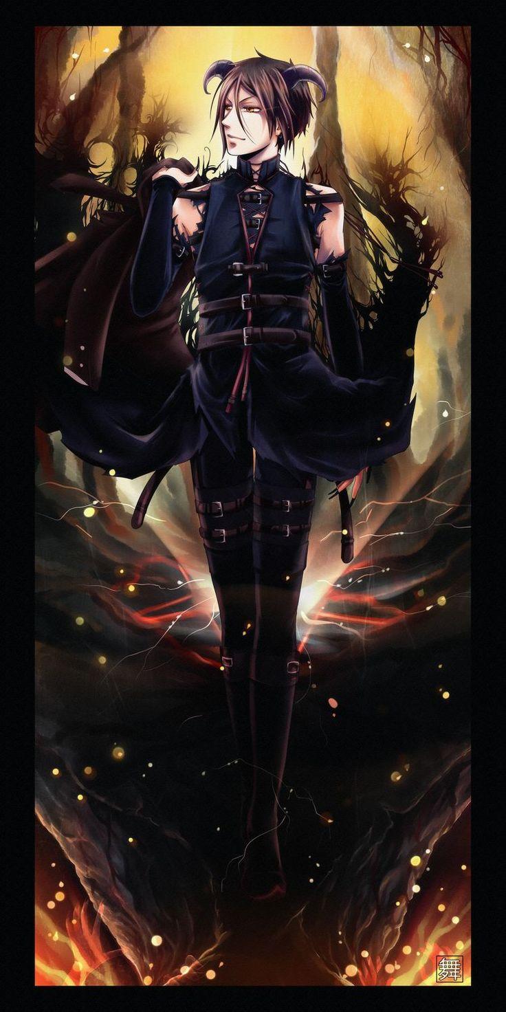 Sebastian Michaelis demon Kuroshitsuji (C) Yana Toboso