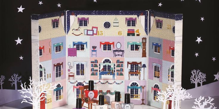 The best beauty advent calendars for 2014 -Cosmopolitan.co.uk I love this sooo much!!!♡♡