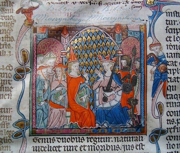Dekret Gracjana, rękopis z końca XIII w.