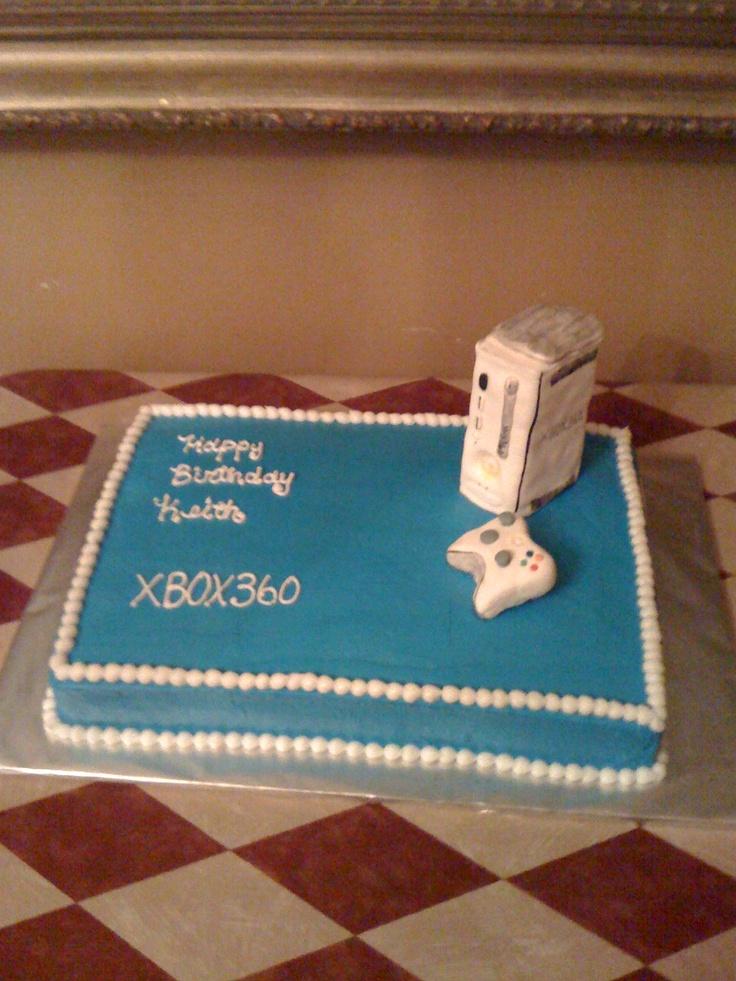 xbox - cake idea for J : )