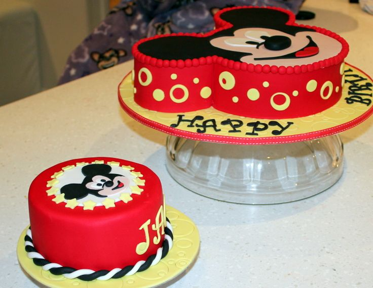 Best Cake Ideas Images On Pinterest Mickey Mouse Clubhouse - Mickey birthday cake ideas