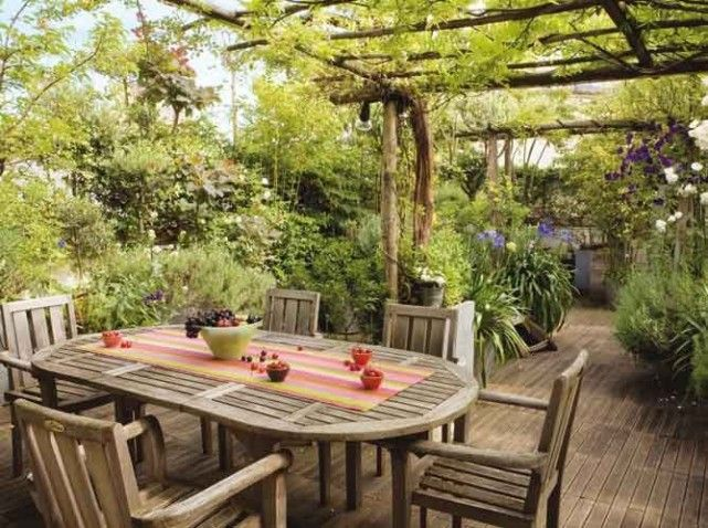 1000 id es sur le th me caillebotis terrasse sur pinterest for Photos terrasses et jardins