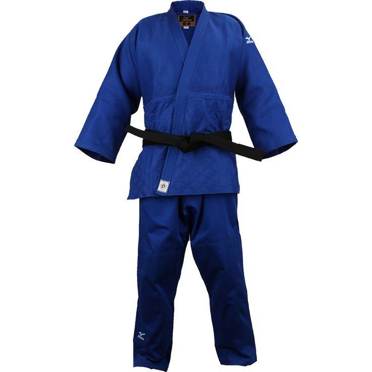Mizuno Yusho Japan Made IJF Approved Judo Gi - Blue