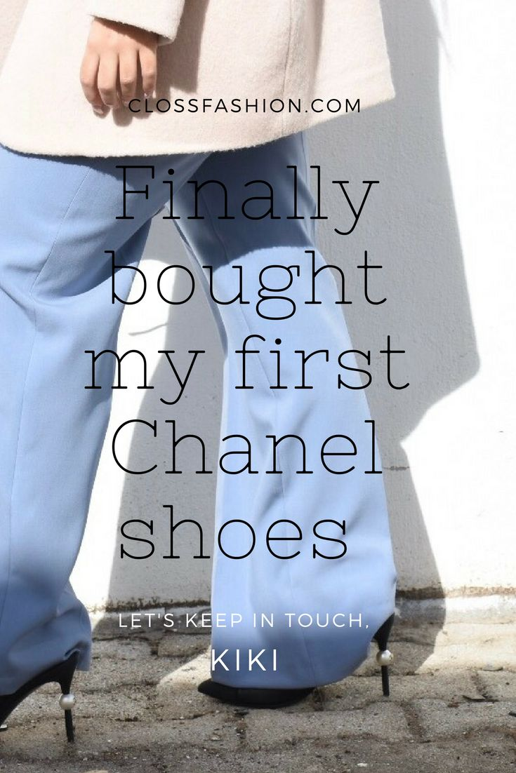 A detailed guide for your first time purchasing CHANEL shoes ! Sizing , fitting g and how to get a sale ! Do you know that you can buy CHANEL shoes on sale ? Read everything on clossfashion.com #chanelshoes #sizingtips #shoes #shoesguide #blog #fashionblog