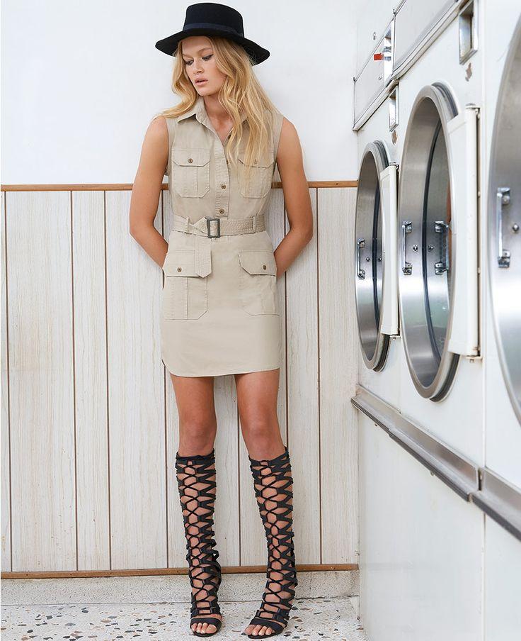 Chelsea Shirt Dress - Bardot