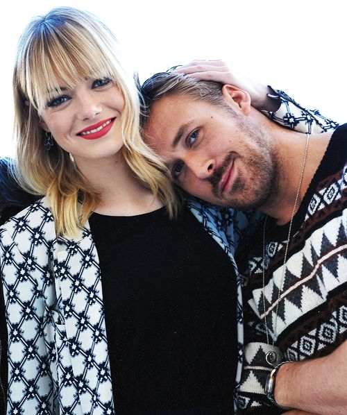 Emma Stone and Ryan Gosling. A movie coupling that I wish were a real one.