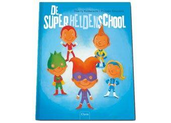 geestig prentenboek 'de superheldenschool'