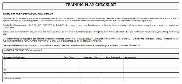 Workshop Planning Checklist Inspirational Training Checklist Template 19 Free Word Excel Pdf Checklist Template Training Plan Document Templates
