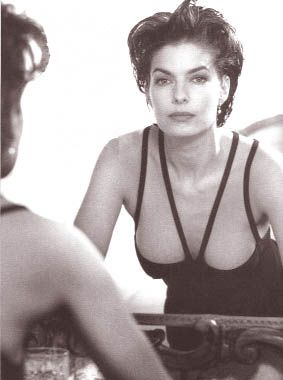 In college, I taped this picture of Sela Ward to my mirror. It's at least 30 years old, so hair and dress are dated, but she continues to inspire me with her natural beauty and quiet sense of self-assurance.