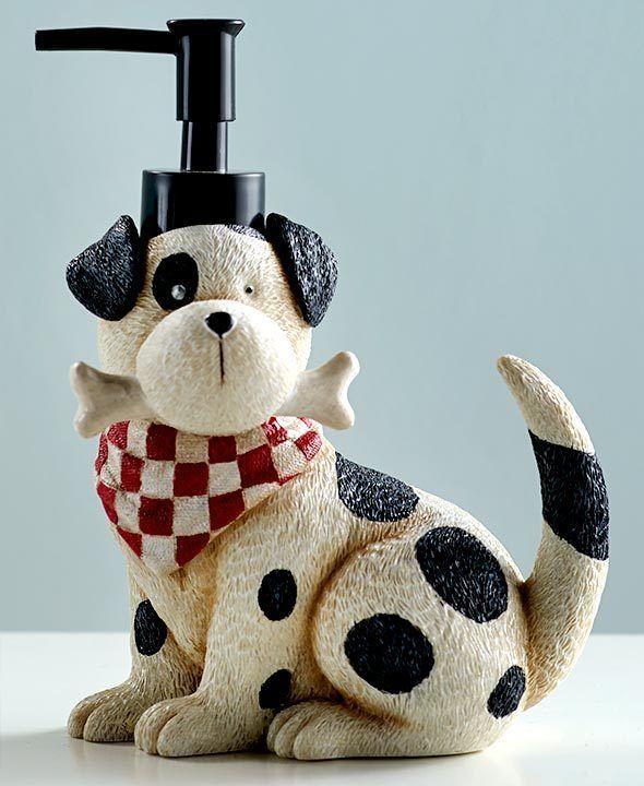 Playful Dogs Puppy Bathroom Bath Pet