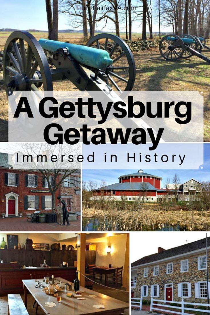 A Gettysburg getaway brings US Civil War history to life, and offers pleasant diversions that make an ideal road trip from the Washington DC metro region. More