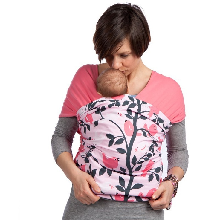 Liliputi® Strechy Wrap - Rainbow line - Tweetie Pink Babywearing & More! #liliputi #babycarrier #babywearing #wrap