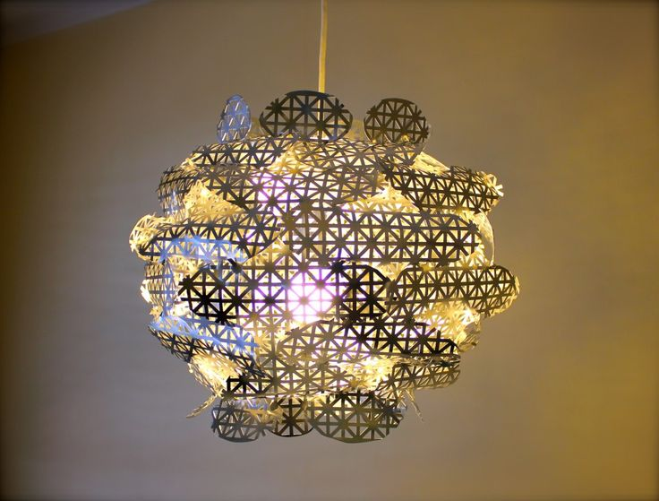 Metal Chandelier made from decorative radiator parts!
