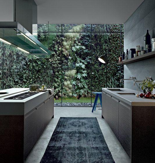 Island kitchens | Kitchen systems | Minimal | Varenna Poliform. Check it out on Architonic
