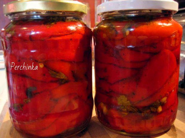Печеный болгарский перец на зиму - Перчинка хозяюшка
