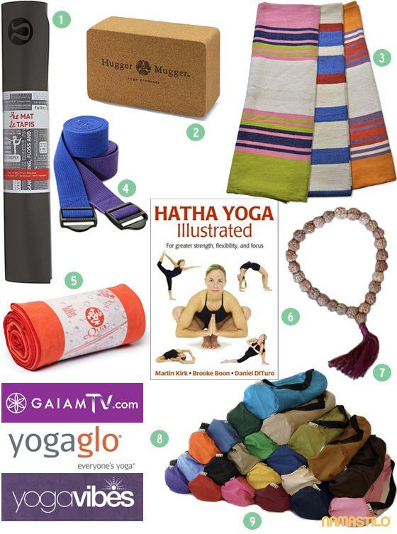 YOGA GIFT GUIDE: for the yoga beginner ~ Namastilo