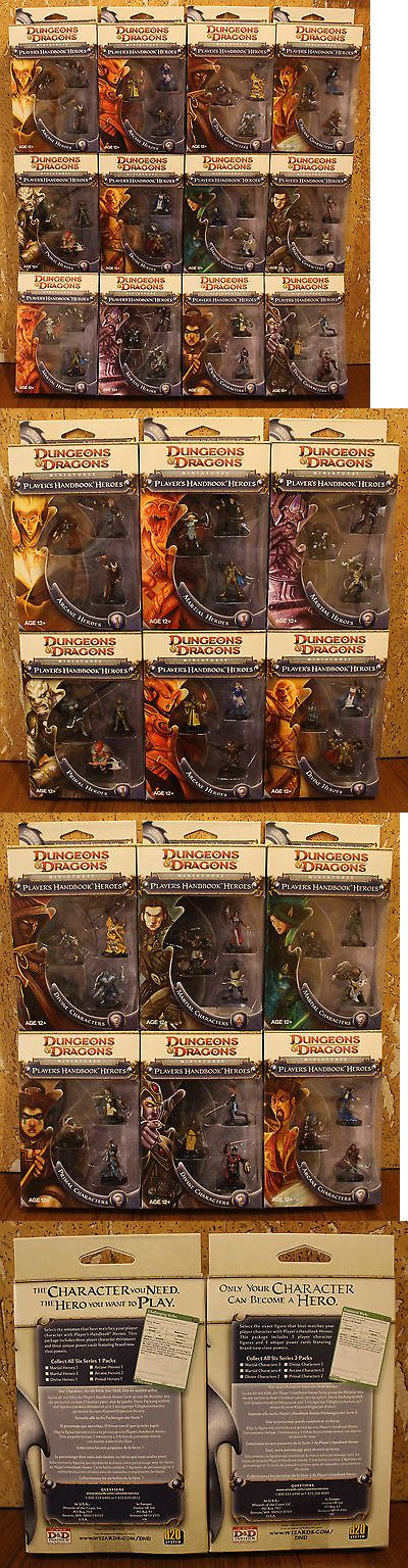 Miniatures 166803: Dungeons And Dragons Miniatures Player S Handbook Heroes (Series 1 And 2, Full Set) -> BUY IT NOW ONLY: $220 on eBay!