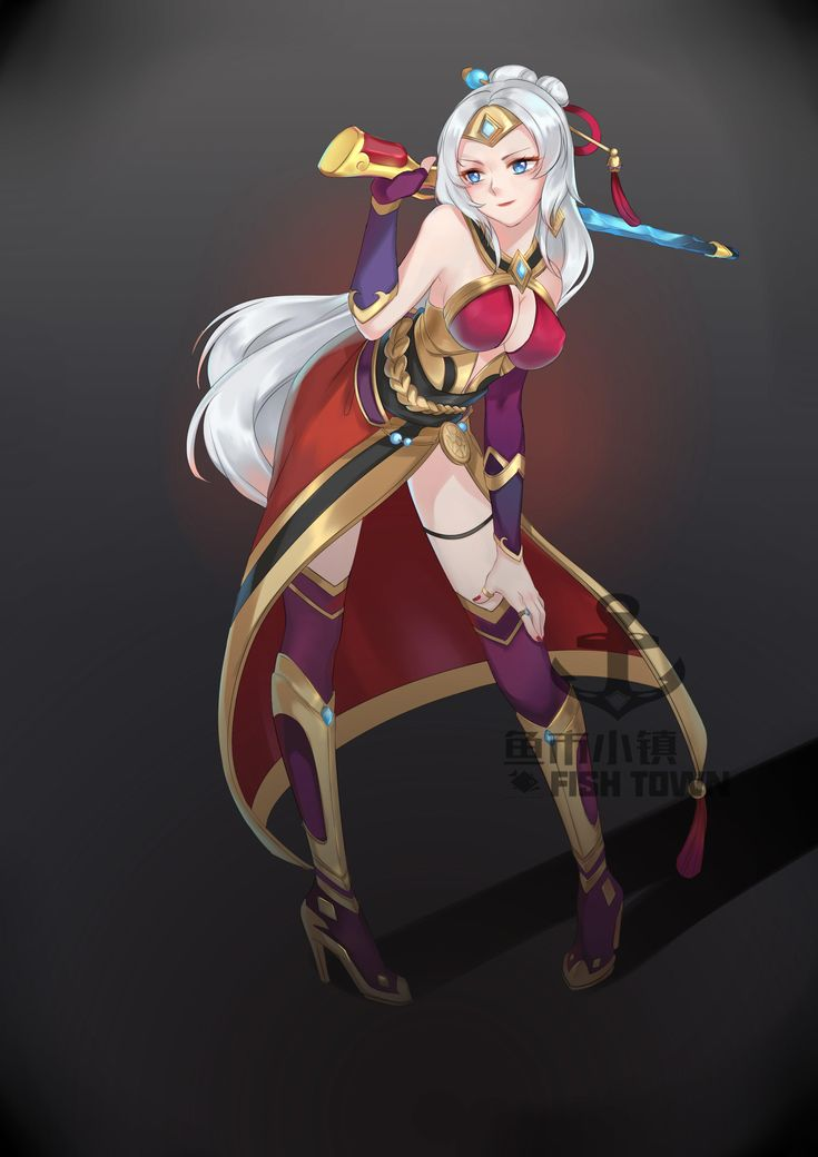 Lian, Scion of house aico | Paladins: Champions of the Realm | Know Your Meme