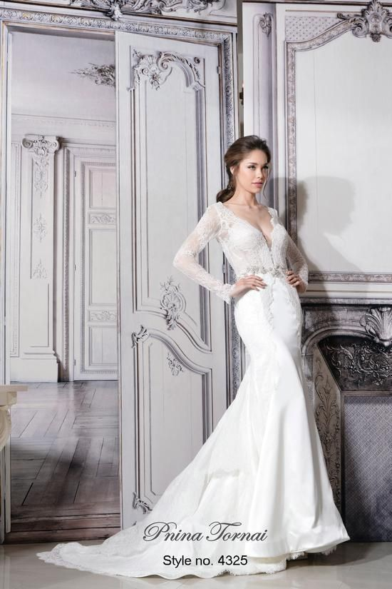 Fabulous Pnina Tornai Kleinfeld Summer Sample Sale Wedding Reception DressesSheath