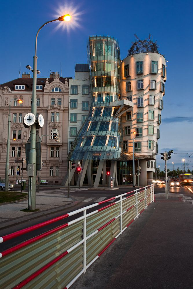 The Dancing House, Prague (by Alberto Blasi)