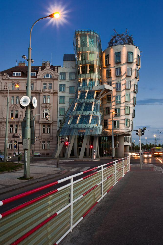 The Dancing House, Prague (by Alberto Blasi)