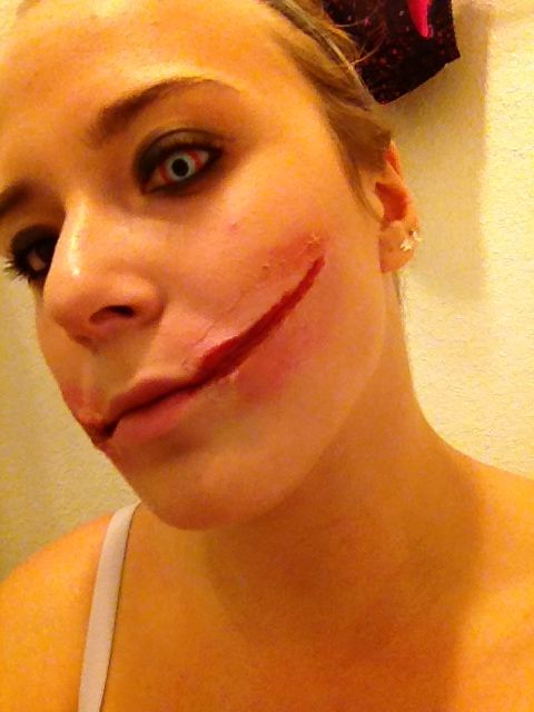 Another Rendition Of The Chelsea Grin Gore Makeup Halloween - Gore-makeup