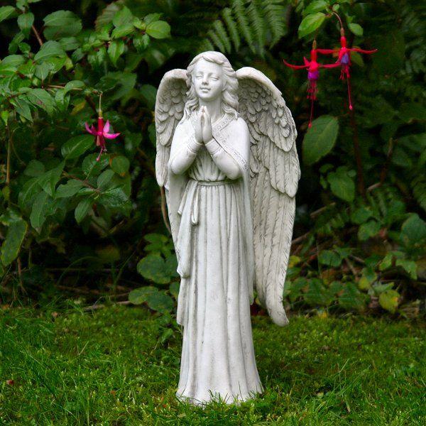 Praying Angel Garden Statue A Wonderful Way To Enhance The Garden