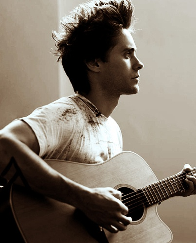 My second biggest inspiration ever. Jared Leto. So amazing