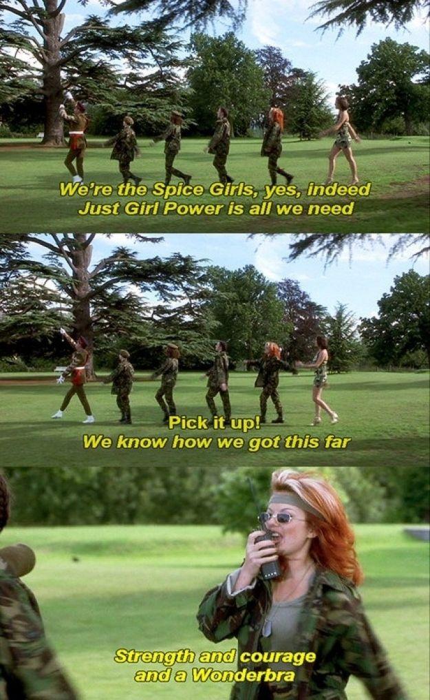 Spice Girls, Spice World, film, music, 1990s, 90s, 1997, parody, comedy