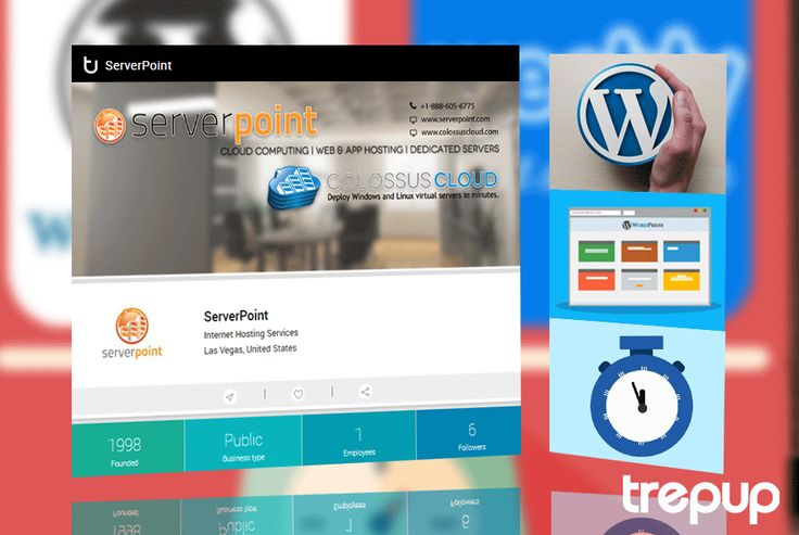A well developed application needs a well developed hosting platform, the rest is pointless. ServerPoint, on Trepup! http://bit.ly/1OdrgHy