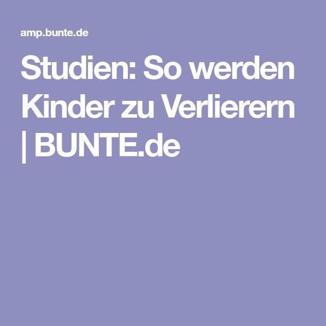 Studien: So werden Kinder zu Verlierern   BUNTE.de