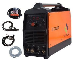 """Features & Benefits"" 200A Inverter TIG Welder Pulse Digital High Frequency TIG Welding Machine MMA Stick Mosfet 60% D/C Welder Machine Digital Control"
