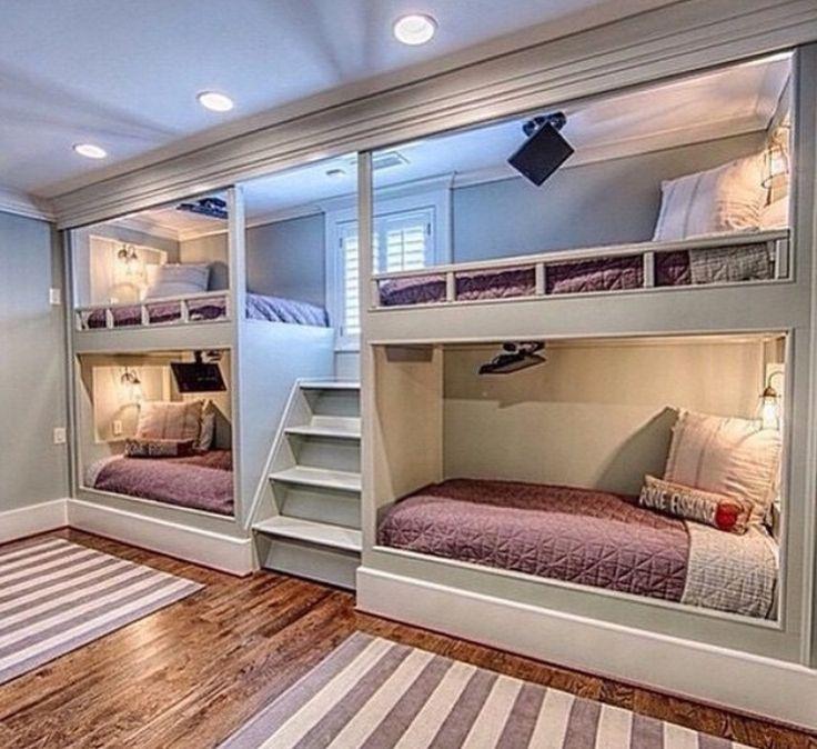 Tägliche Mode, Mädchen Schlafzimmer, Raumaufbau, Etagenzimmer, Etagenbett,  Dekoideen Für Die Wohnung