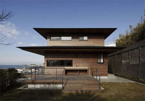 Modern japanese house of t residence by kidosaki for Asian architecture house design