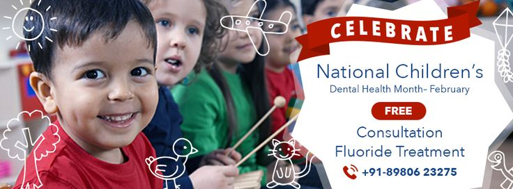 US Dental is celebrating 'National Children's Dental Health Month - February'. It is our initiative to reduce dental cavities among kids and to create dazzling smile.  Visit, US Dental Center to take the benefit.  Visit - www.usdental.in