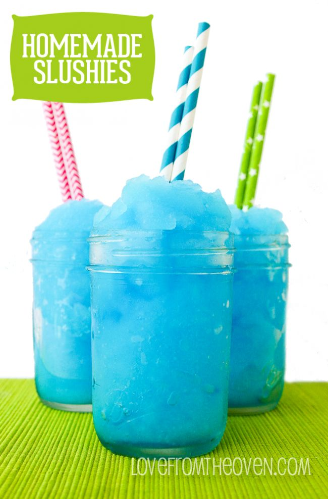 Homemade Slushie Recipe at Love From The Oven