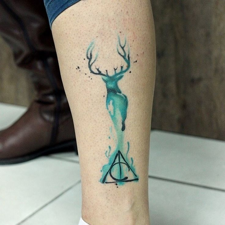 """39 Gorgeous Harry Potter Tattoos That Will Make You Say """"I Want That"""""""