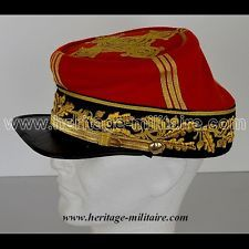 KEPI D'OFFICIER FRANÇAIS GRADE GENERAL DE BRIGADE 1870  SECOND EMPIRE NEUF