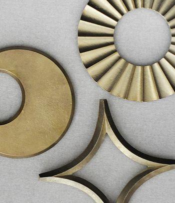 FUTAGAMI Brass Trivet HOSHI (Star) | Design by Masanori Oji - Analogue Life