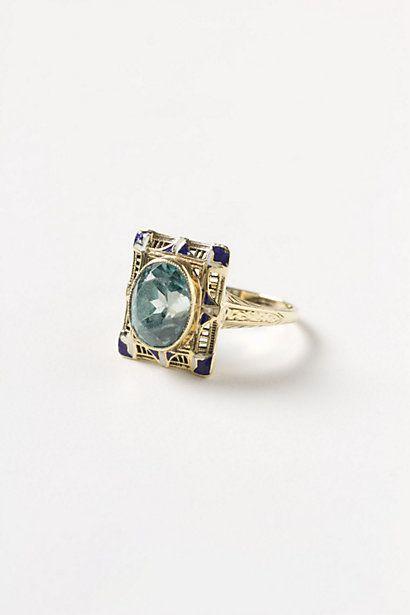 Deco Zircon Ring - Anthropologie.com... omgggg in love