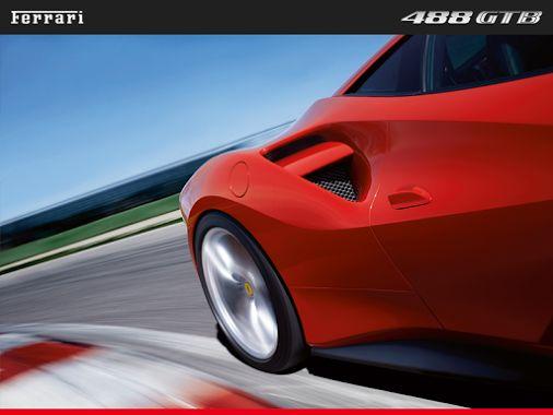 Rojo velocidad. #Ferrari #488GTB